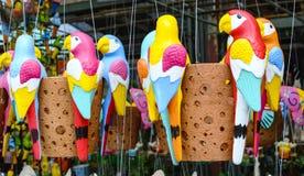 Форма попугая ведер, баки попугая Стоковые Фото