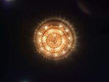 Форма потолочного освещения красивая Стоковое фото RF