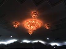 Форма потолочного освещения красивая Стоковое Изображение