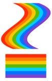 Форма радуги с tweaked и регулярн постоянным посетителем версии repea бесплатная иллюстрация