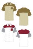 форма рубашки цвета Стоковые Изображения