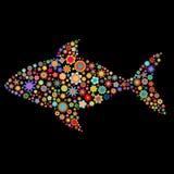 Форма рыб Стоковые Изображения RF