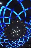 форма светильника цветка потолка стоковые фото