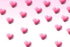 Форма сердца изолированная на белой предпосылке Стоковые Фото