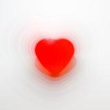 форма сердца пульсируя Стоковые Фотографии RF