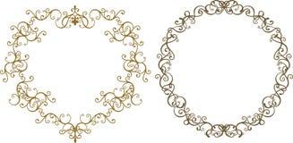форма сердца рамки Стоковое фото RF