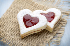 Форма сердца печений Стоковая Фотография RF
