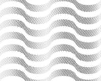 Форма треугольника экрана полутонового изображения геометрическая Черная предпосылка Белые текстура и картина бумажная складчатос Стоковое Изображение RF