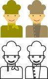 Форма для работников ресторана иллюстрация вектора