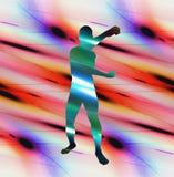 Форма 3 человека иллюстрация вектора