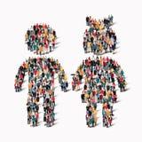 Форма Eople укомплектовывает личным составом детей Стоковое Изображение
