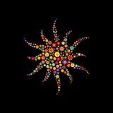 Форма Sun Стоковое Изображение RF