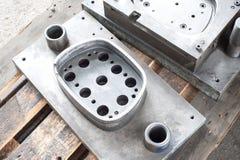 Форма tooling прессы пунша Стальная деталь токарного станка и филируя indu Стоковое Изображение