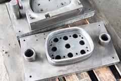 Форма tooling прессы пунша Стальная деталь токарного станка и филируя indu Стоковые Изображения