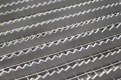 Форменная решетка металла Стоковое фото RF