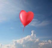 Форменное сердце воздушного шара Стоковое Изображение