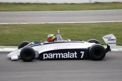 формула историческое одно автомобиля brabham bt49c Стоковые Фото