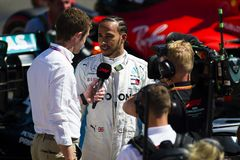Формула 1 французское Grand Prix 2019 стоковая фотография