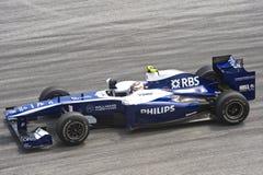 Формула-1 участвуя в гонке команда williams t Стоковое Фото