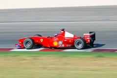 Формула-1 ferrari Стоковое Фото