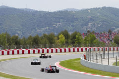 Формула 1 Grand Prix Каталонии Стоковая Фотография
