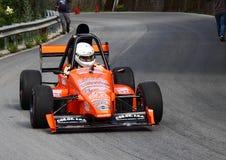 Формула l r Гоночный автомобиль Renault Стоковая Фотография