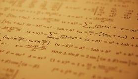 формулы Стоковое Фото
