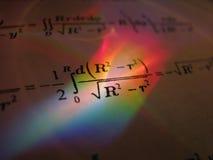 формулы Стоковые Фотографии RF