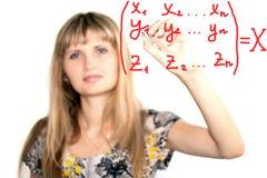 формулы Стоковое Изображение