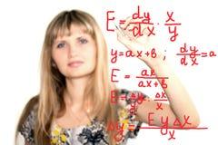 формулы Стоковые Изображения