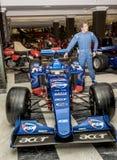 Формула 1 гоночной машины Стоковые Фотографии RF