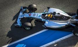 Формула 2014 Левиса Гамильтона 1 Стоковое Изображение