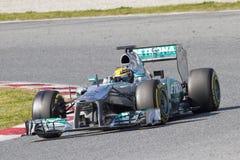 Формула 1 Левис Гамильтон Стоковое Фото