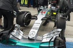 Формула 1, 2015: Левис Гамильтон Стоковые Изображения
