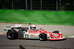 Формула 1976 марта 761 1 бывшее Патрик Neve Стоковая Фотография