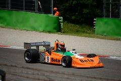 Формула 1976 марта 761 1 бывшее Vittorio Brambilla Стоковое Изображение