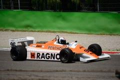 Формула 1982 стрелок A4 1 бывший Mauro Baldi Стоковая Фотография RF
