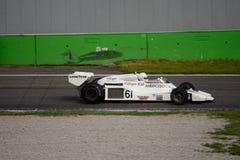 Формула 1978 тени DN8 1 бывший Riccardo Patrese Стоковые Изображения