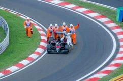 Формула 1 - Фернандо Alonso Стоковое Изображение RF