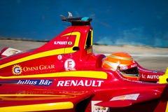 Формула e - младший Нельсона Piquet - гонки Китая Стоковое Изображение