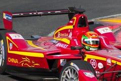 Формула e - Ho-Pin Tung - гонки Китая Стоковые Изображения RF