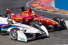 Формула e - Marco Andretti - Ho-Pin Tung Стоковые Фото