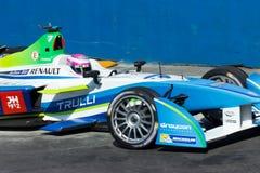 Формула e - Michela Cerrutti - Trulli Стоковое Фото