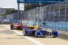 Формула e raceday Путраджайя FIA, Малайзия Стоковые Фото