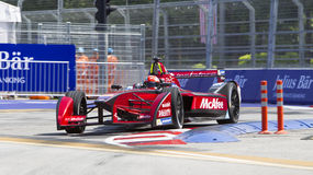 Формула e raceday Путраджайя FIA, Малайзия Стоковая Фотография RF