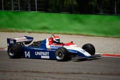 Формула 1980 Ensign N180 1 бывший январь Lammers Стоковое Фото