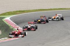 Формула 1 Grand Prix Стоковые Изображения