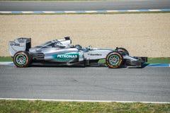 Формула 1, 2015: Nico Rosberg Стоковая Фотография RF