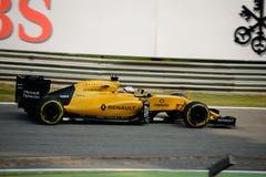 Формула 1 Renault на Монце управляемой Кевином Magnussen Стоковое фото RF