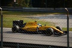 Формула 1 Renault на Монце управляемой Jolyon Palmer Стоковые Фотографии RF